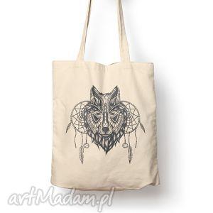 Prezent Torba - wilk, torba, bawełna, eco, prezent, wilk