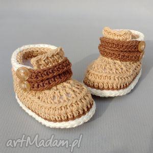 buciki cardiff, buciki, dziecko, niemowlę, prezent, wełniane, trampki