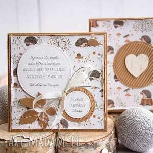 kartki kartka w pudełeczku dla dziecka narodziny chrzest roczek urodziny