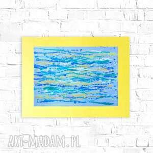 abstrakcja do pokoju, oryginalna grafika sypialni, nowoczesna dekoracja