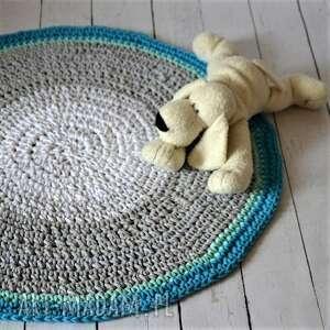 sznurkowy dywan, ze-sznurka, do-pokoiku, dla-dziecka, dywanik, szydełkowy, pod