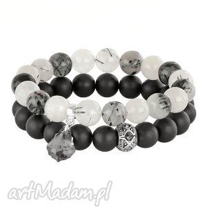 ręcznie robione sada 2 - grey, moon & black l202
