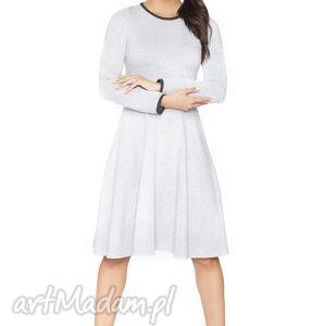 sukienki rozkloszowana sukienka f_6 - rawear, sportowa, dresowa, wygodna, midi