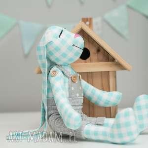 Królik personalizacja chrzest imię zabawki artshoplalashop