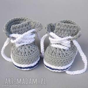 buciki trampki stanford, buciki, trampki, dziecięce, bawełniane, prezent, niemowlę