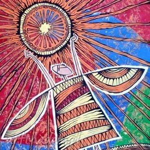 obrazy anioł słońca zamówienie p. moniki