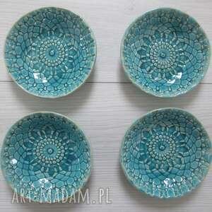 ceramika ana dekoracyjne miseczki komplet 4 sztuk zamówienie dla p ewy