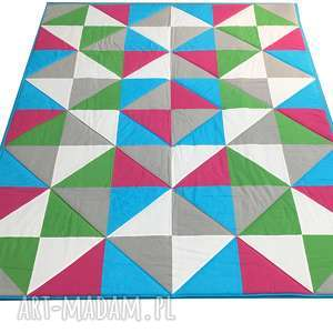 narzuta summer 160x210cm patchwork od majunto, patchwork, komplet