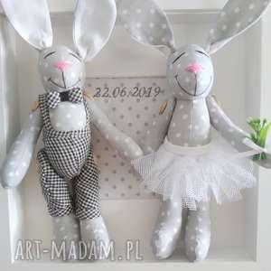 krliki ślub prezent para młoda, króliki, ślub, ramka, prezent
