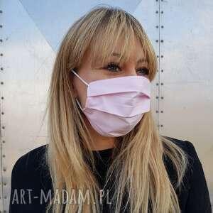 maseczki kobieca maseczka do twarzy ochronna bawełna kosmetyczna maska różowa
