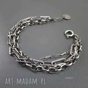 łańcuszki - masywna, srebro, bransoletki