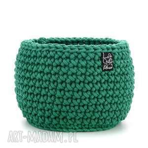 Prezent Koszyk, zielony, L, kosz, koszyk, koszyczek, ozdoba, prezent, przechowywanie