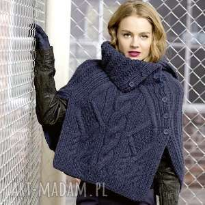 ręcznie wykonane swetry otulacz homer