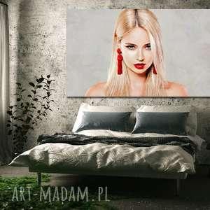Obraz xxl kobieta 32 -120x70cm na płótnie autorski projekt
