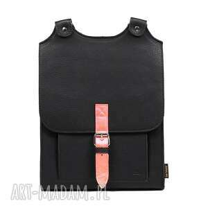 Czarny plecak skórzany słoń torbalski 00 -09 -0112-e20 -48132