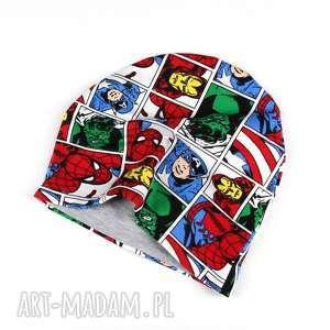 Marvel komiksowa czapka dwstronna dla dziecka godeco czapka
