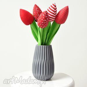 dekoracje bukiet bawełnianych tulipanów, tulipan, tulipany, bukiet, kwiaty, kwiatki