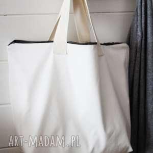 Torba White , torba, torebka, bawełniana, letnia, plażowa, damska