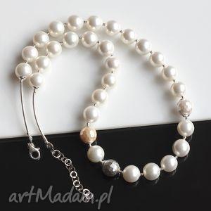 perły seashelll - perły, seashell, srebro, błyszczący, elegancki
