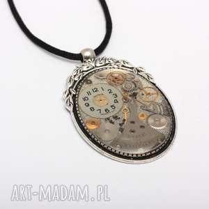 zegarki z czasem jej do twarzy, upcykling, steampunk, zegarki