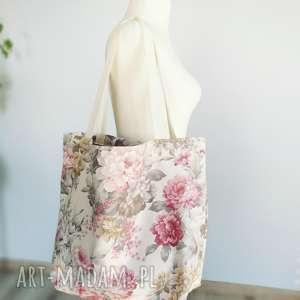 torebka w kwiaty xxl, torba, torebka, kwiaty, vintage