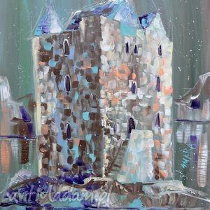 obrazy zamek irlandia, obeaz, zamek, architektura, prezent, 4mara, obraz, świąteczny