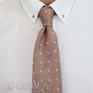 Krawat regular #25, wielokororowy, krawat, dodatki