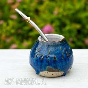 ceramiczne naczynie do yerba mate / małe matero handmade 200ml 7 oz