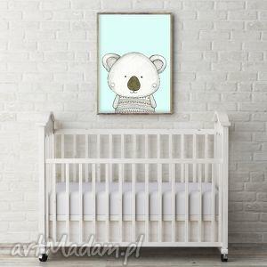 pokoik dziecka koala a3, miś, misio, misie, koala, obrazek, ilustracja