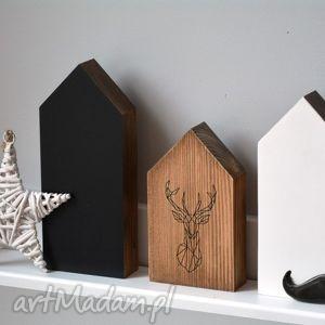 Domki drewniane w stylu skandynawskim, domek, domki, drewniane, drewna, jeleń,