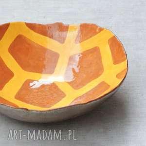 hand made ceramika misa żyrafa
