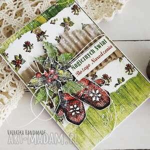 vairatka-handmade kartka świąteczna 520 - boże narodzenie