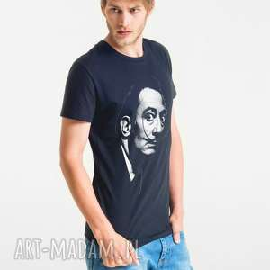 handmade koszulki dali portrait t-shirt męski
