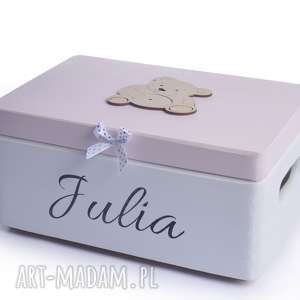 kuferek wspomnień pudełko skarby - pudełko na zabawki, prezent, pudełko z