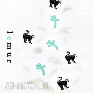 lemur - girlanda, girlanda, gwiazdki, lemur, zwierzęta