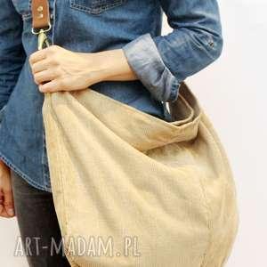 1576e89735297 Xxl - handmade beżowe (torebka) torba worek
