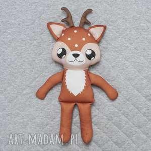 jelonek przytulanka - poofy cat woodees - jelonek, przytulanka, maskotka, woodland