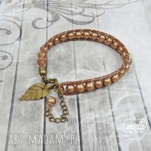 0704/mela bransoletka wrap bracelet pojedyncza, bransoletka, bracelet