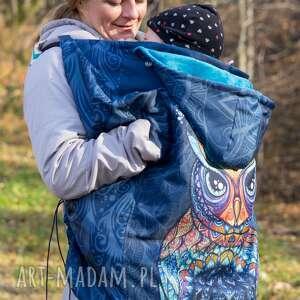 hand-made dla dziecka osłonka na chustę lub nosidło