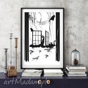 Wonderful World... 50x70 cm., plakat, grafika, okno, obraz, teatr, ściana