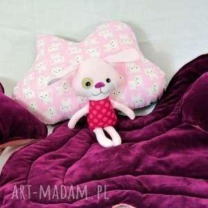 ręczne wykonanie pokoik dziecka dywanik - jagodowa chmurka