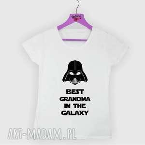 ręcznie robione koszulki koszulka z nadrukiem dla babci, od wnuków, wnuka, wnuczki, prezent, najlepsza babcia, dzień babci