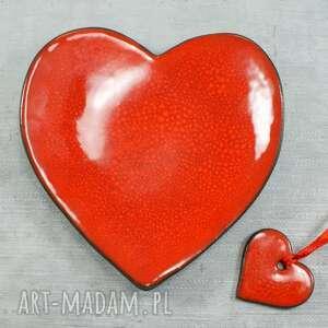 Walentynkowa miseczka serce ceramika pracownia ako walentynki