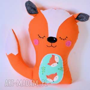 lisek przytulasek 2, lis, maskotka, przytulanie, dziecko, niemowlę, roczek