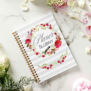 ręcznie robione ślub notes panny młodej, planer ślubny 2018-2020