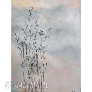 trawki obraz akrylowy formatu 40/60 cm, trawy, akrylowy