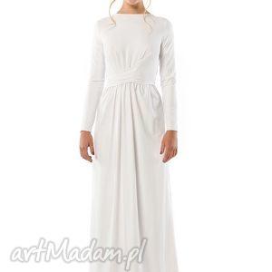 cristina patria 2 biała suknia, ślubna, jersey