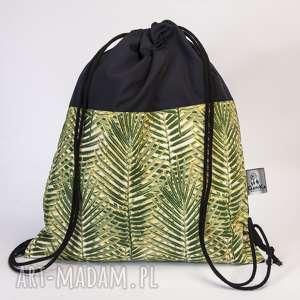 worek liściasty, worek, plecak, liście, dżungla, tropik