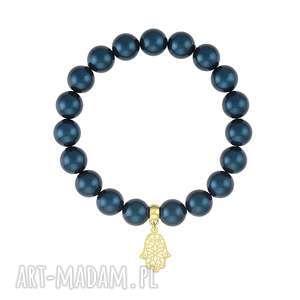 bransoletka z pereł - earth energy - perła, swarovski, prezent
