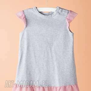 sukienka dsu04 - sukienka, modna, tiul, elegancka, stylowa, wyjątkowa